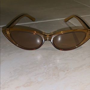 Brown Clear Sunglasses